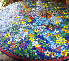 glass mosaic tile glass mosaic table top glass mosaic table top
