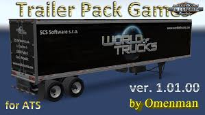 Trailer Pack Games V.1.01.00 For Ats » American Truck Simulator Mods ... Our Video Game Truck In Cary North Carolina 3d Parking Thunder Trucks Youtube Grand Theft Auto 5 Wood Logs Trailer Gameplay Hd New Cargo Driver 18 Simulator Free Download Of Games Car Transport Trailer Truck 1mobilecom For Android Free And Software Ets2 Mods 2k By Lazymods Mod Ets 2 Scs Softwares Blog Doubles Pack V101 Euro