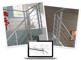 barriere escalier leroy merlin configurer mon garde corps obapi bois et aluminium leroy merlin