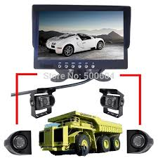 IPad Rear Camera CCD Side View With LED Night Vision 7