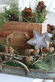 Rustic Christmas Decor Mixed Textures