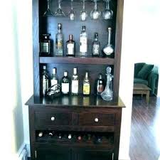 Corner Bar Cabinet Dining Room Living