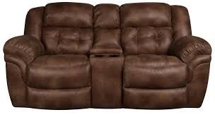 Morris Chair Recliner Mechanism by Elijah Reclining Loveseat With Console Morris Home Reclining