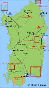 mountain ranges of europe sardinia walking hiking and trekking information