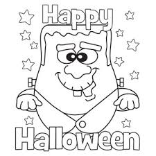 Preschool Halloween Coloring Pages Printables