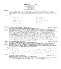 Sample Administrative Assistant Resume Example Monster Samples Template Admin