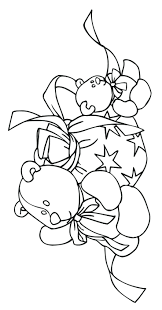 Coloring Pages Christmas Pictures Printable Colouring Candy Cane Sheets Pdf Free Full Size