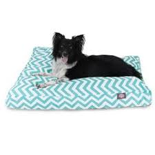 majestic pet uv treated chevron rectangle dog bed free shipping