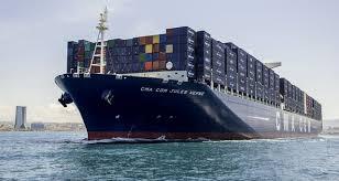 le mol triumph est officiellement le plus gros porte conteneurs