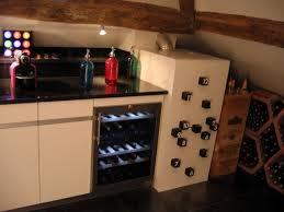 vin cuisine cuisine sous les voûtes photo 5 7 cave à vin et réfrigérateur