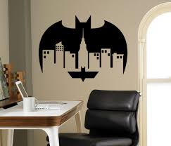 Superhero Wall Decor Stickers by Compare Prices On Gotham Wall Decal Online Shopping Buy Low Price
