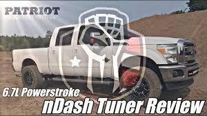100 Chips For Diesel Trucks Patriot Diagnostics NDash Tuner Review 67L Powerstroke YouTube