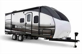 Illustration Stock Vector Motorhomes Blog Rv Side View Ford Transit Based Class C Debut Jpg