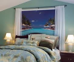 Ideas For Bedroom Decorating Themes Glamorous Design Tropical Theme