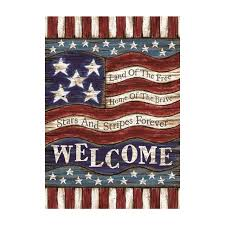 American Flag Decorative Outdoor & Indoor Flags  Polyester