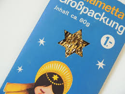 Christmas Tree Tinsel Icicles by Vintage Gold Lametta Christmas Tree Tinsel Icicles From