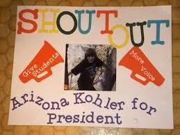 Arizona For President Poster Running