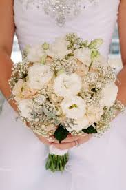 Wedding Flowers Babys Breath Hydrangeas Bridal Bouquet Ideas Rustic