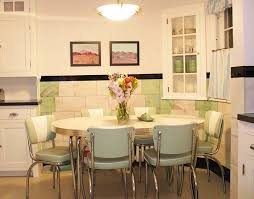 Transform Retro Kitchen Dinette Sets Perfect Decorating Ideas