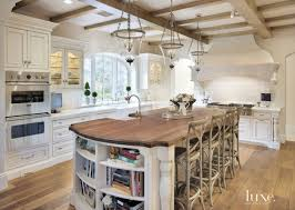 French Country Kitchens Ideas In Blue White Colors Decor