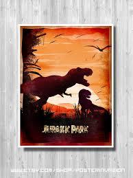 Jurassic Park Travel Poster Isla Nublar