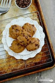 Cake Mix Pumpkin Cookies by Gluten Free Pumpkin Chocolate Chip Cookies My Recipe Confessions