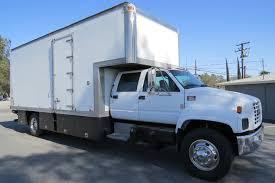 100 Crew Cab Box Truck Used 2001 GMC C6500 22 Ft Van Grip In Fontana CA
