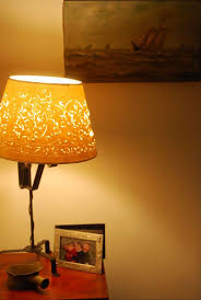Diy Punched Tin Lamp Shade by 88 Best Pierced And Cut Lampshades Images On Pinterest Home Diy