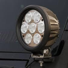 100 Led Work Lights For Trucks 6 LED Light Round 70W