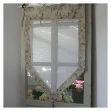 boutique brise bise rideau fleuri coton décoration romantique
