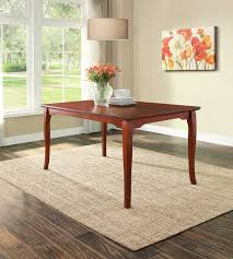 Walmart Kitchen Table Sets by Better Homes And Gardens Autumn Lane Extension Dining Table