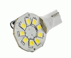 921 led bulb 9 smd led disc miniature wedge retrofit 130