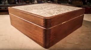 ipe wood u0026 leather box youtube