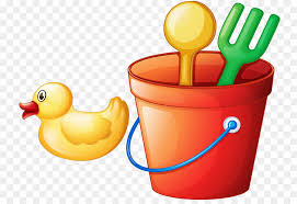 Towel Beach Bucket And Spade Clip Art