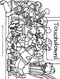 Football Colouring Sheets Uk Printable Nfl Coloring Pages Game Page Kids Free Word Puzzles Activities