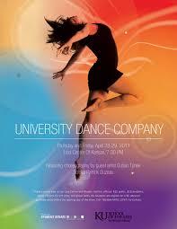 KU Dance Poster