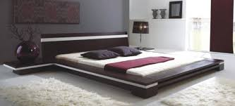chambre wengé sonata platform bed in wenge contemporain chambre los