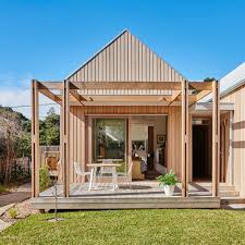 100 Coastal House Designs Australia Retire To This Compact Gablestyle Wooden Home In
