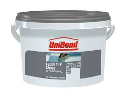 Blue Hawk Premixed Vinyl Tile Grout Directions by Unibond Charcoal Ready Mixed Grout W 3 75kg Departments Diy