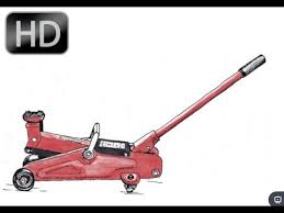 how to add oil to a hydraulic floor jack youtube