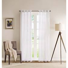 Walmart Grommet Top Curtains by Curtain Interesting White Curtain Panels White Drapery Panels