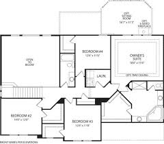 Drees Homes Floor Plans by Ash Lawn At Ravinia Fishers In