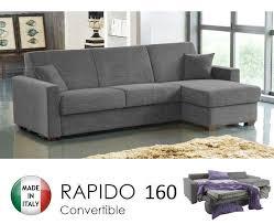 canapé d angle convertible gris canape d angle ouverture rapido dreamer convertible lit 160 195 14