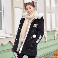 Japanese Winter Warm Black Unicorn Coat SD01200