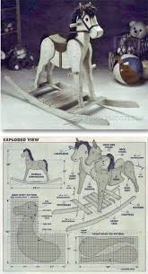 rocking horse plans children u0027s woodworking plans and projects