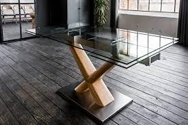 kawola esstisch gino glastisch 160 240cm x 90cm ausziehbar