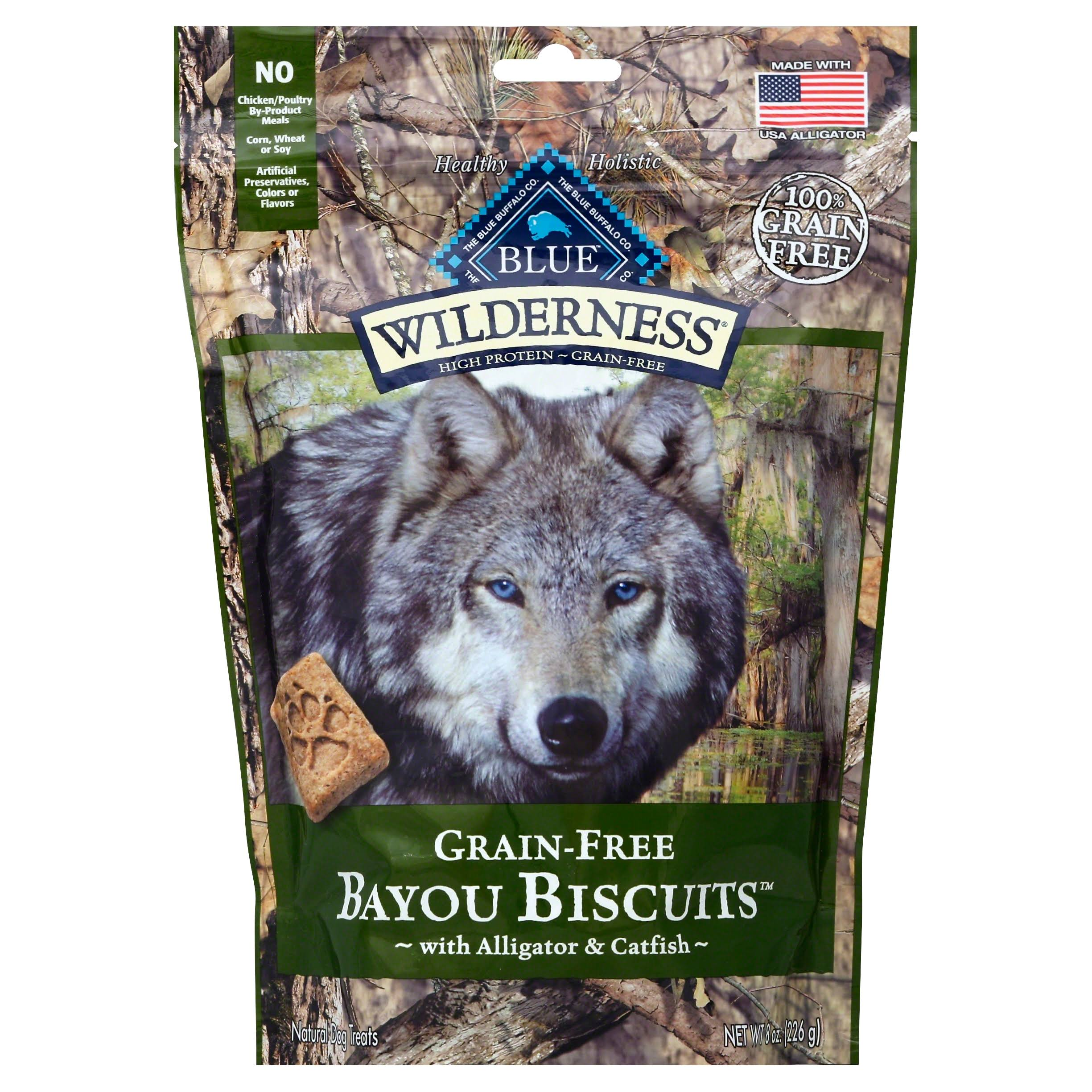 Blue Buffalo Wilderness Grain-Free Bayou Dog Biscuits - 8oz