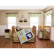 Trend Lab Chibi Zoo 3 Piece Crib Bedding Set
