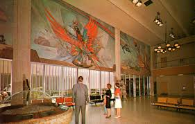 Denver International Airport Murals New World Order by Rogue Columnist Phoenix 101 Sky Harbor