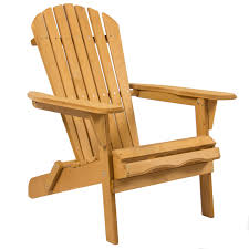 best choice products outdoor wood adirondack chair foldable patio